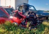 Idosa morre após veículo colidir com caminhonete na BA-142 | Foto: Reprodução | Blog do Anderson