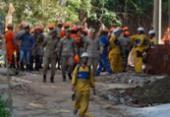 Bombeiros encontram corpo da última vítima desaparecida na Muzema | Foto: Tânia Rêgo | Agência Brasil