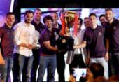 Cerimônia premia os melhores do Campeonato Baiano 2019 | Foto: Felipe Oliveira | EC Bahia
