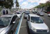 Motoristas enfrentam fila de até 2h30 no ferryboat | Foto: Luciano da Matta | Ag. A TARDE