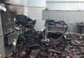 Incêndio atinge escola do município de Lajedão | Foto: Divulgação | Reporter Coragem
