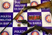 Homem é preso em flagrante por porte ilegal de armas | Foto: Divulgação | SSP-BA