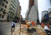 Trânsito na rua Chile passa por novas mudanças nesta segunda | Foto: Joá Souza | Ag. A TARDE