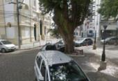 Homem com tornozeleira eletrônica é preso por roubo no Largo da Vitória | Foto: Google Maps | Reprodução
