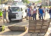 Simões Filho: grupo reivindica melhorias no transporte | Reprodução | TV Bahia