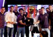 Cerimônia premia os melhores do Baianão 2019; confira | Felipe Oliveira | EC Bahia