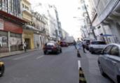 Trânsito e linhas de ônibus são alterados na Rua Chile | Adilton Venegeroles | Ag. A TARDE