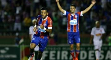Rogério salva aos 52 - Felipe Oliveira / EC Bahia