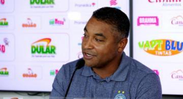 Roger diz que foi um bom resultado - Felipe Oliveira/EC Bahia
