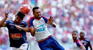 Jogadores destacam a luta do elenco para levantar a 48ª taça estadual do Bahia - Repodução/Felipe Oliveira