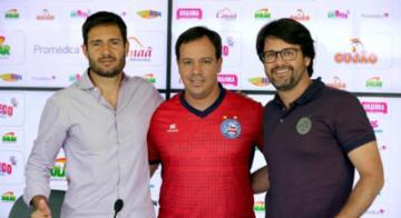 Presidente explica formato da 'equipe de transição' e promete anunciar hoje contratação de lateral-direito - Divulgação | Felipe Oliveira | EC Bahia