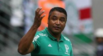 Roger, que completou quatro jogos pelo Bahia, lembrou de Enderson Moreira - Reprodução | Cesar Greco/ Ag.Palmeiras