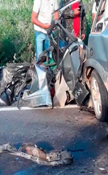 Acidente aconteceu no Km 45 da BR-407 - Foto: Reprodução   TV Bahia
