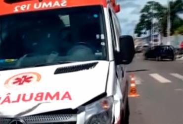 Motociclista morre após acidente com ambulância do Samu | Reprodução | Blog Notícias de Alagoinhas