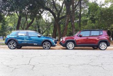 A disputa de SUVs: comparação de Jeep Renegade e Citroën C4 | Wagner Gonzalez | Ag. A TARDE
