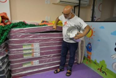 Instituto Beneficente Conceição Macedo faz campanha após ser furtado | Shirley Stolze | Ag. A TARDE