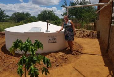 Comunidades rurais de Juazeiro recebem mais cisternas