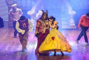 Musical sobre a Bela e a Fera será apresentado em maio no TCA | Divulgação
