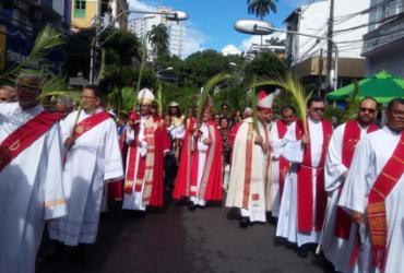 Domingo de Ramos é celebrado em Salvador  