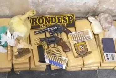 Cerca de 20 kg de cocaína são apreendidos em Santo Estevão | Divulgação | SSP