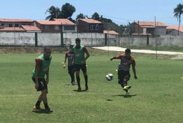 Vitória finaliza preparação com 'rachão' em Fortaleza | Divulgação | EC Vitória