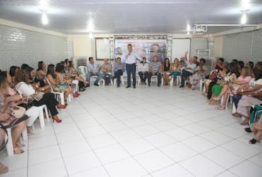 Rui Costa se reúne com gestores escolares de Campo Formoso
