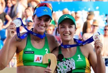 Após título brasileiro no vôlei de praia, Bárbara e Fernanda miram Tóquio-2020 | Divulgação | FIVB