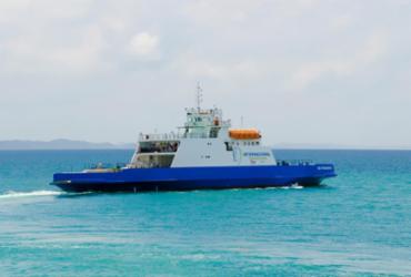 Duas embarcações do sistema ferryboat estão suspensos e passam por reforma   Divulgação