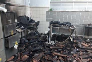 Incêndio atinge escola do município de Lajedão   Divulgação   Reporter Coragem