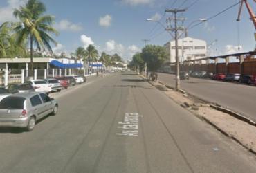 Acidente com moto deixa dois feridos no bairro do Comércio | Reprodução | Maps