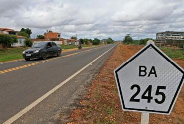 Trecho recuperado da BA-245 em Marcionílio Souza é entregue