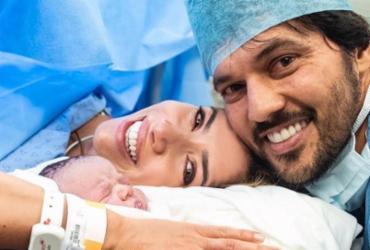 Nome de filho recém-nascido de Patrícia Abravanel é homenagem a Silvio Santos   Reprodução   Instagram