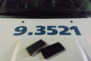 Dupla é presa após tentativa de assalto a ônibus em Salvador | Divulgação | SSP-BA
