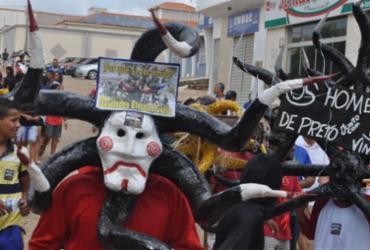 Semana Santa: Moradores de Caravanas celebram tradicional 'Festa dos Caretas' | Divulgação | Prefeitura de Caravanas