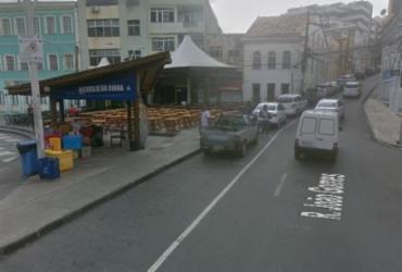 Veículos quebrados deixam via congestionada no Rio Vermelho   Google Maps   Reprodução