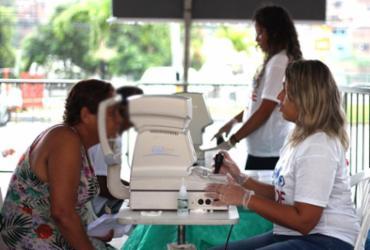 Atendimento oftalmológico e exames de mamografia são feitos gratuitamente na Calçada | Divulgação