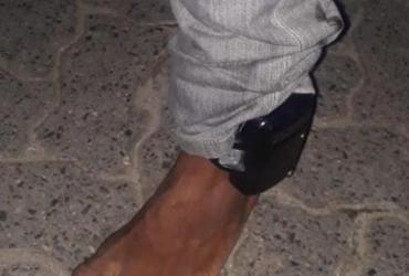 Três homens são presos com tornozeleiras eletrônicas | Divulgação | SSP-BA