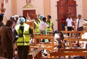 Número de mortos chega a 290 em atentados no Sri Lanka  