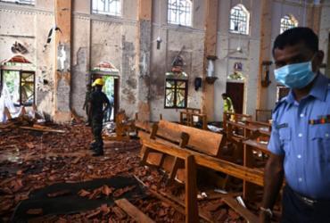 Atentados causam fechamento de igrejas no Sri Lanka   Jewel Samad   AFP