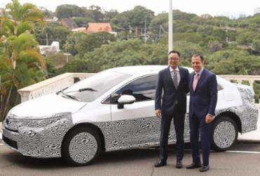Primeiro carro híbrido flex do mundo é lançado no Brasil | Divulgação l Governo do Estado de São Paulo