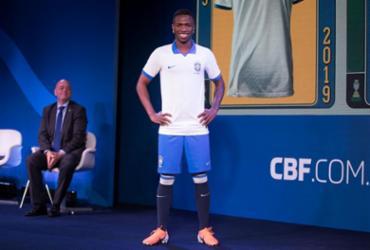 Caboclo revela que seleção brasileira estreará na Copa América de camisa branca | Divulgação | CBF
