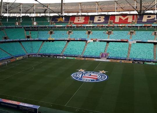 Confira o clima do pré-jogo de Bahia x Londrina   Reprodução l Instagram l @ecbahia