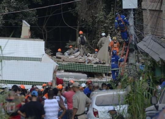 Justiça decreta prisão de três pessoas pelas mortes em desabamento no Rio | Fernando Frazão | Agência Brasil