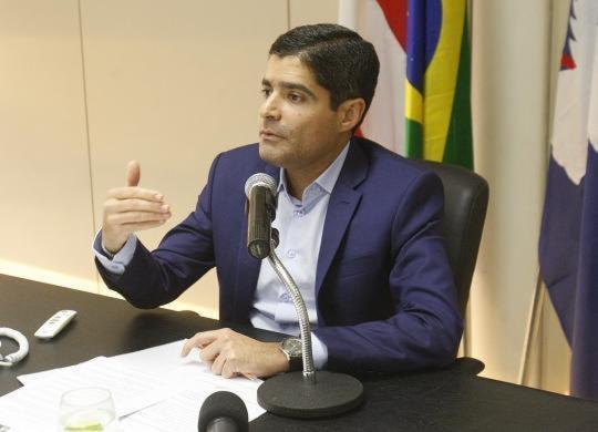 Sem aprovação da Câmara, não tem ônibus novo com ar condicionado, diz ACM Neto | Luciano Carcará | Ag. A TARDE