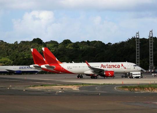 Avianca paga tarifas e garante voos para esta quarta em Salvador   Adilton Venegeroles   Ag. A TARDE