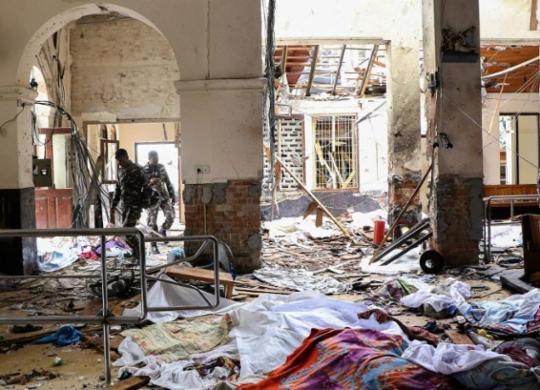 Presos no Sri Lanka suspeitos de ataques a igrejas e hotéis | Ishara S. Kodikara | AFP