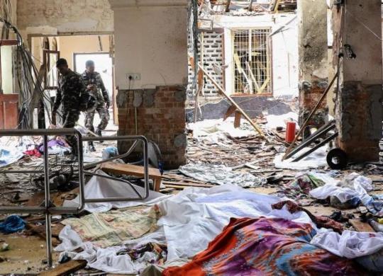 Estado Islâmico reivindica autoria de atentados no Sri Lanka | Ishara S. Kodikara | AFP