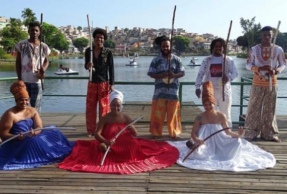 Mestres e cantadores de capoeira fazem show no Pelourinho   Iroko   Divulgação