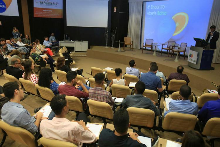 Evento teve abertura do gerente de Comunicação da Odebrecht, Marcelo Gentil - Foto: Joá Souza | Ag. A TARDE