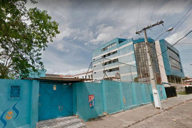 Colégio Santíssimo Sacramento informou sobre suspensão nas redes sociais - Foto: Reprodução | Google Street View